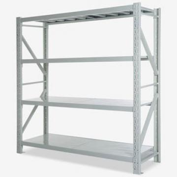 Heavy capacity warehouse pallet racking system