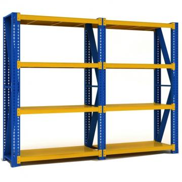 Adjustable Easy Install Industrial 4 Layers Shelf Laminate Warehouse Commercial Shelving Metal Rack Shelves