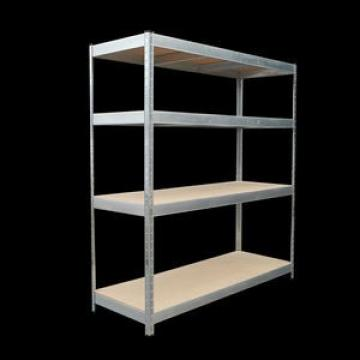 Garage storage shelf boltless particle board warehouse rivet shelving unit in black