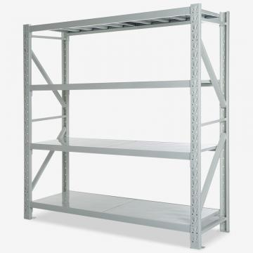 Price adjustable warehouse shelf system heavy duty metal shelving