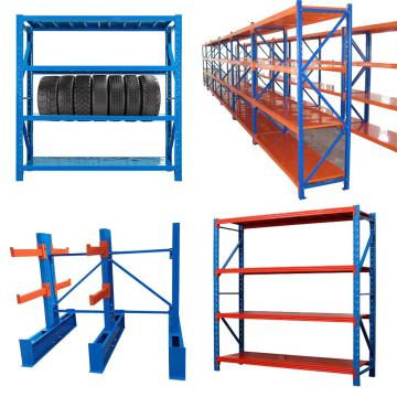 Customized industrial medium duty rack garage shelving boltless storage shelves workshop metal shelving unit